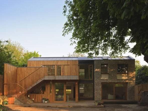 Casa ecológica na Inglaterra