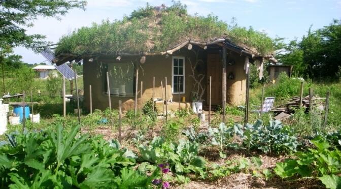 Casa sustentável do norte-americano Brian Liloia