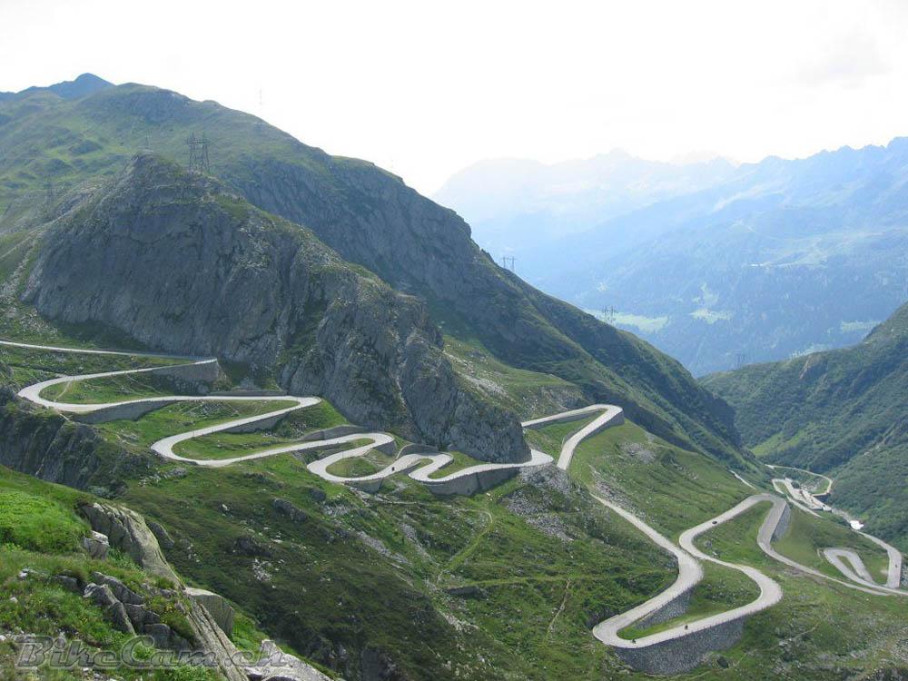 Estrada Stelvio Pass Road