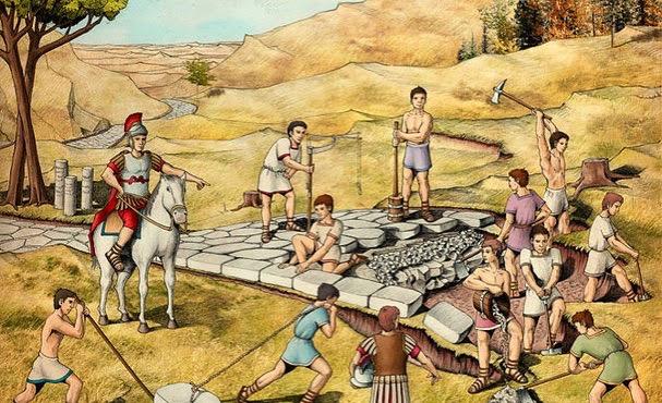 Construção de Estradas Romanas
