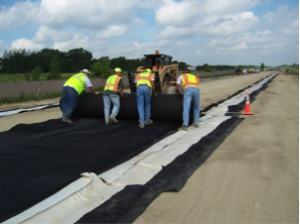 Geotêxtil Drenagem Dreno de Pavimentos