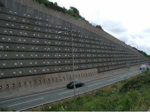 Geotêxtil Drenagem Muros de Arrimo de Gravidade