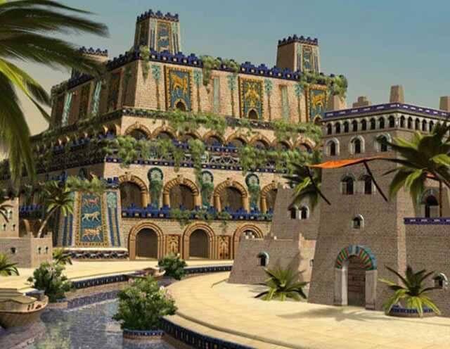 Jardim Suspenso da Babilônia