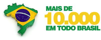 Mais de 10000 Empresas em todo o Brasil