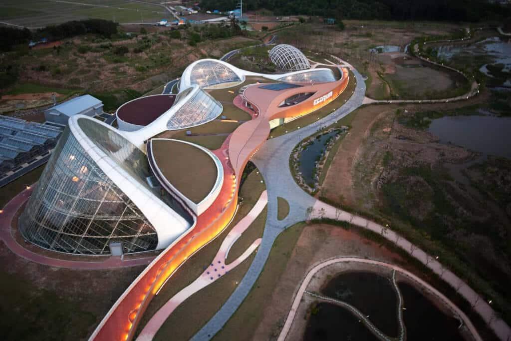Projeto Ecorium Coréia do Sul